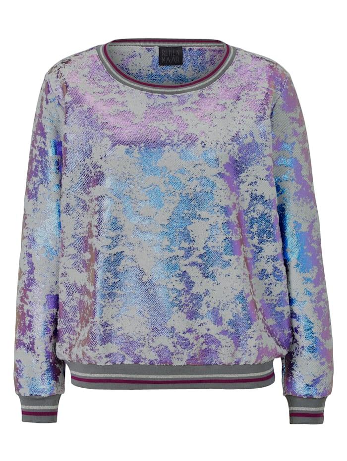REKEN MAAR Sweatshirt, Grau