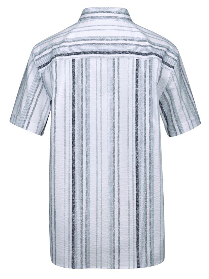 Kreppskjorte i ren bomull