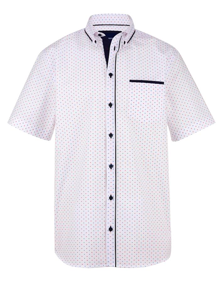 BABISTA Chemise à motif minimaliste, Blanc