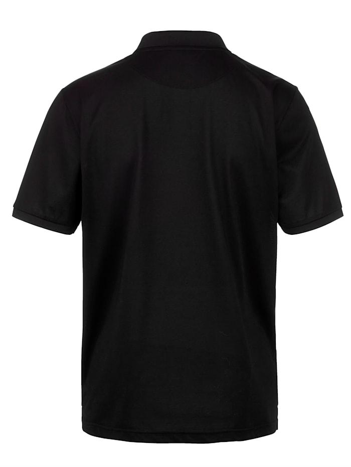 Poloshirt mit feinster Seide