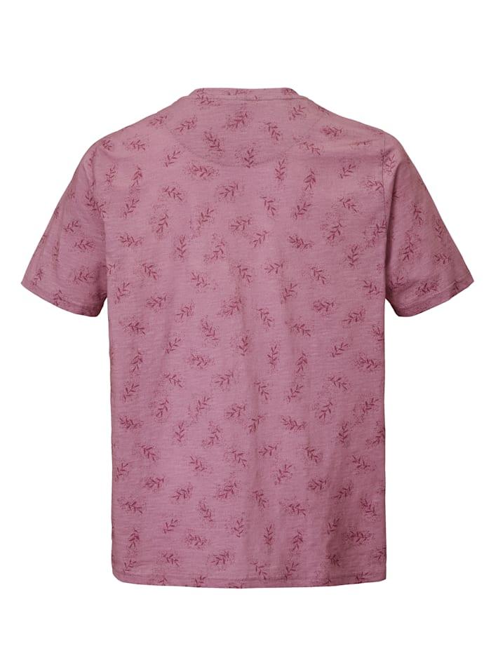 T-shirt met bloemenpatroon