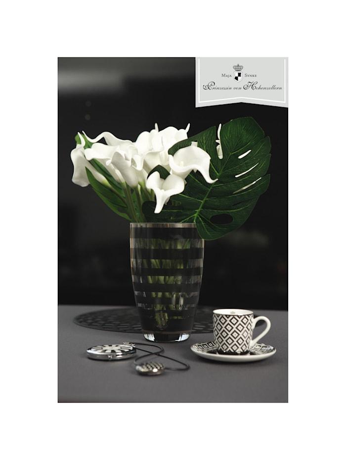 "Goebel Vase Maja von Hohenzollern - Design ""Stripes"""