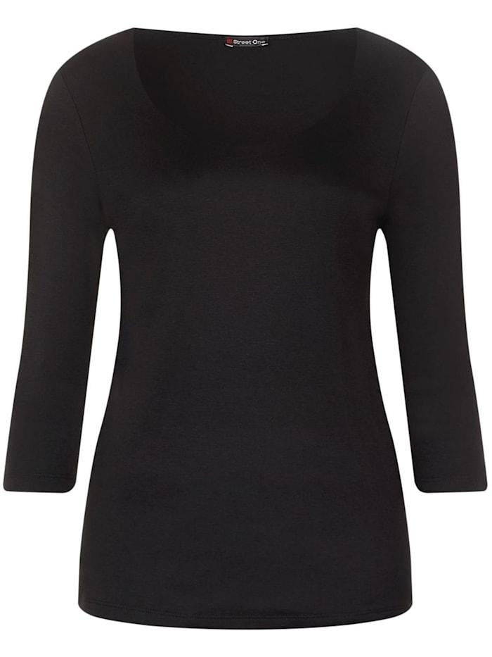 Street One Basic Shirt, Black