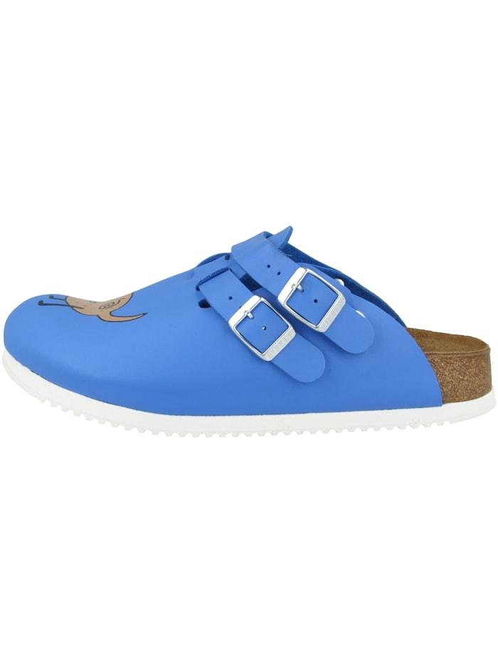 Birkenstock Clogs Kay SL Birko-Flor schmal, blau