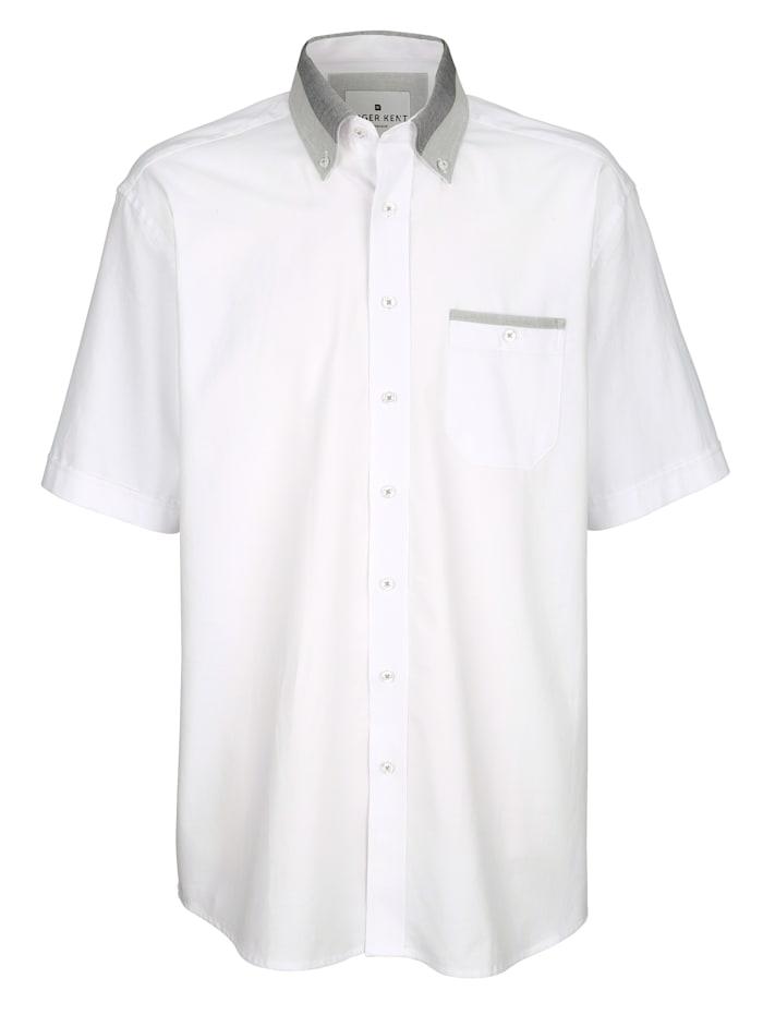 Roger Kent Košeľa z čistej bavlny, Biela