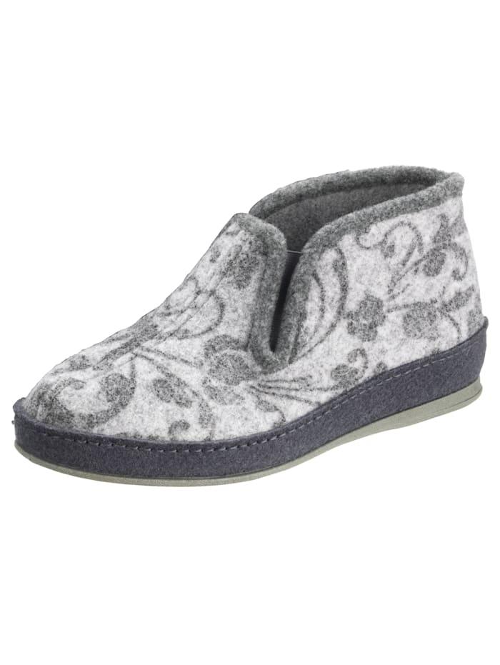 Schawos Chaussures d'intérieur, Gris