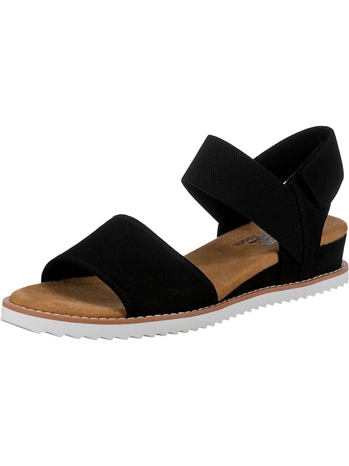 Skechers Desert Kiss Komfort-Sandalen, schwarz