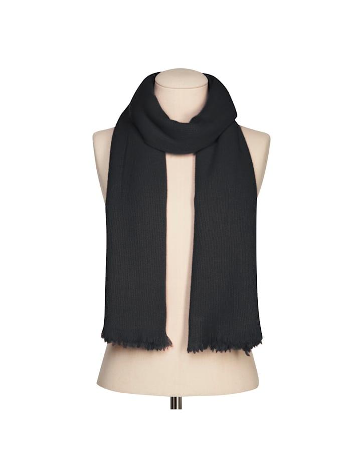 Warmer XL-Strickschal aus Wolle