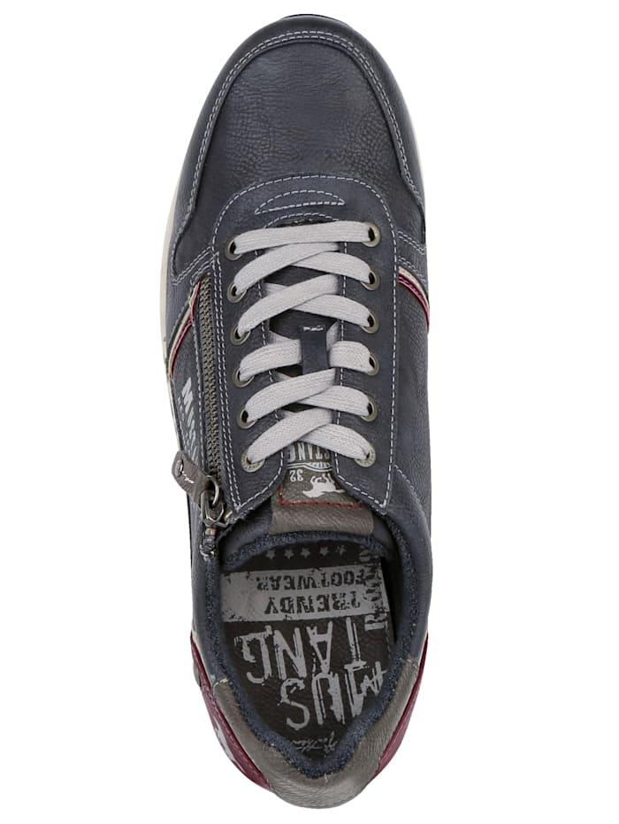 Šnurovacia obuv s dodatočným zipsom