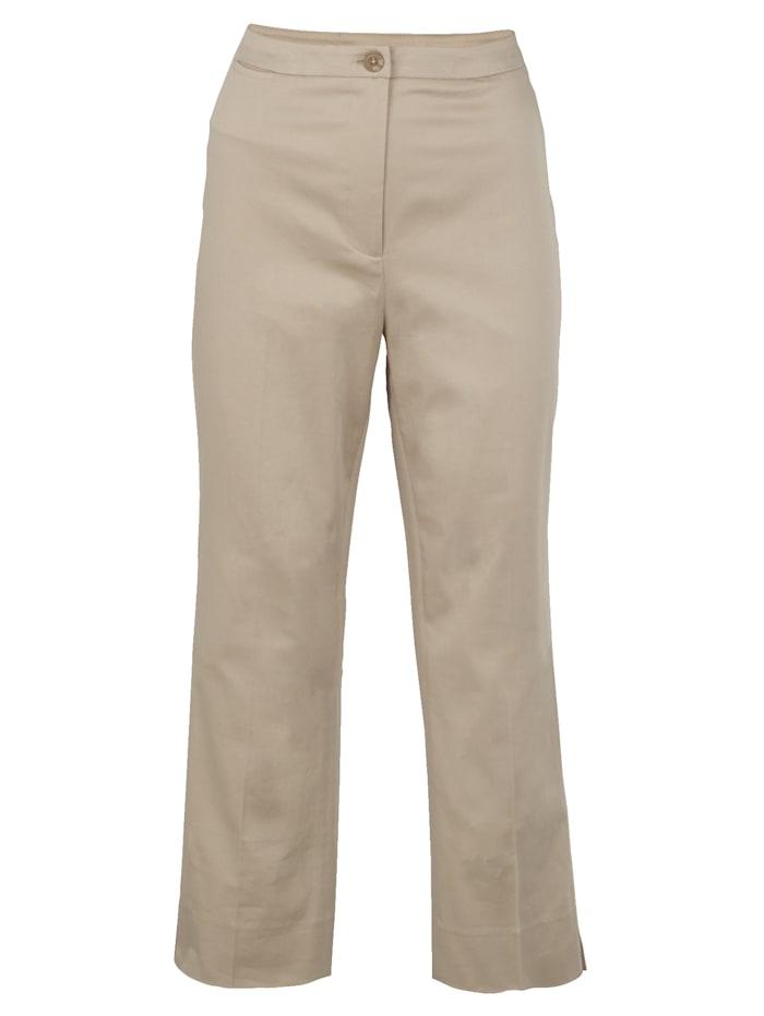Artigiano 7/8 Hose aus Baumwoll-Stretch-Qualität, Beige