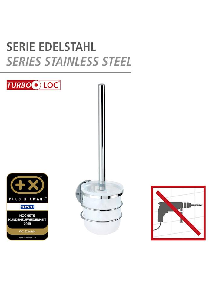 Turbo-Loc® Edelstahl WC-Garnitur, rostfrei, Befestigen ohne bohren