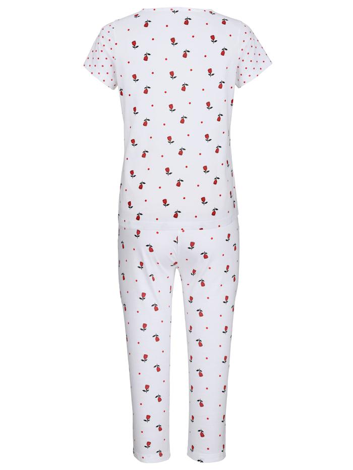 Ensemble nuit composé d'une chemise de nuit et d'un pyjama Emballage