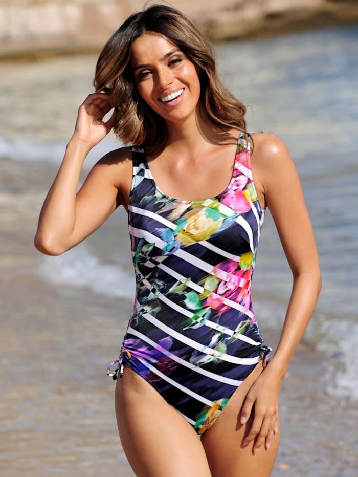 Charmline Badeanzug für Prothesen geeignet, Marineblau