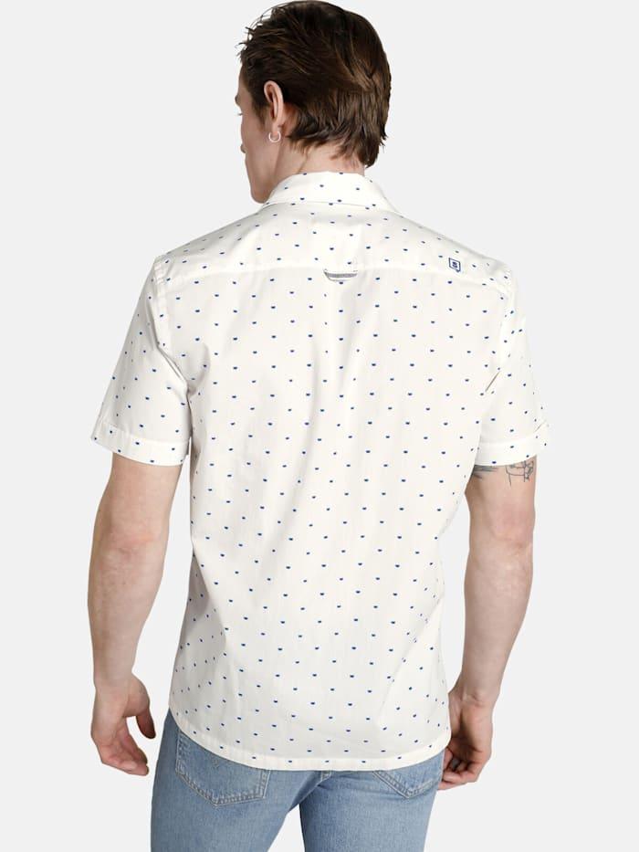 Shirtmaster Kurzarmhemd viennamelange