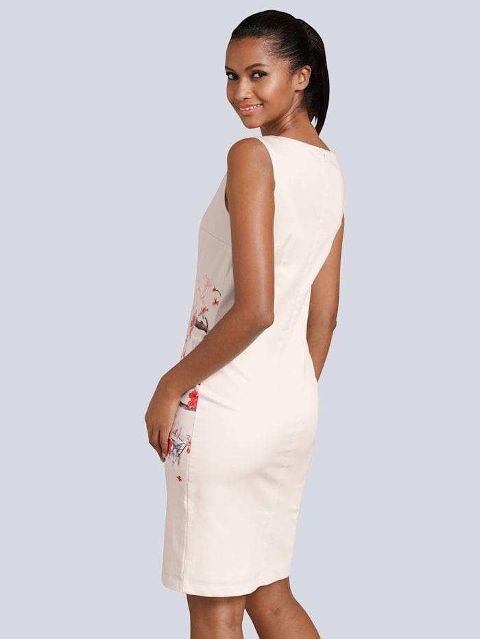 Kleid mit edlem, floralem Print