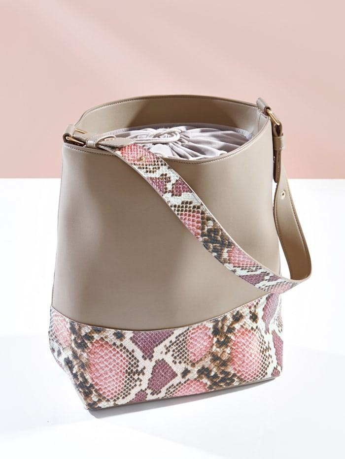 Handväska, mullvad
