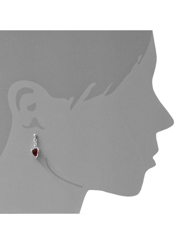 Ohrhänger - Finnja - Silber 925/000 - Bernstein