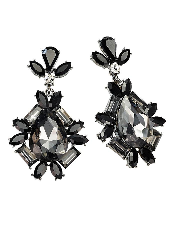 Boucles d'oreilles à cristaux