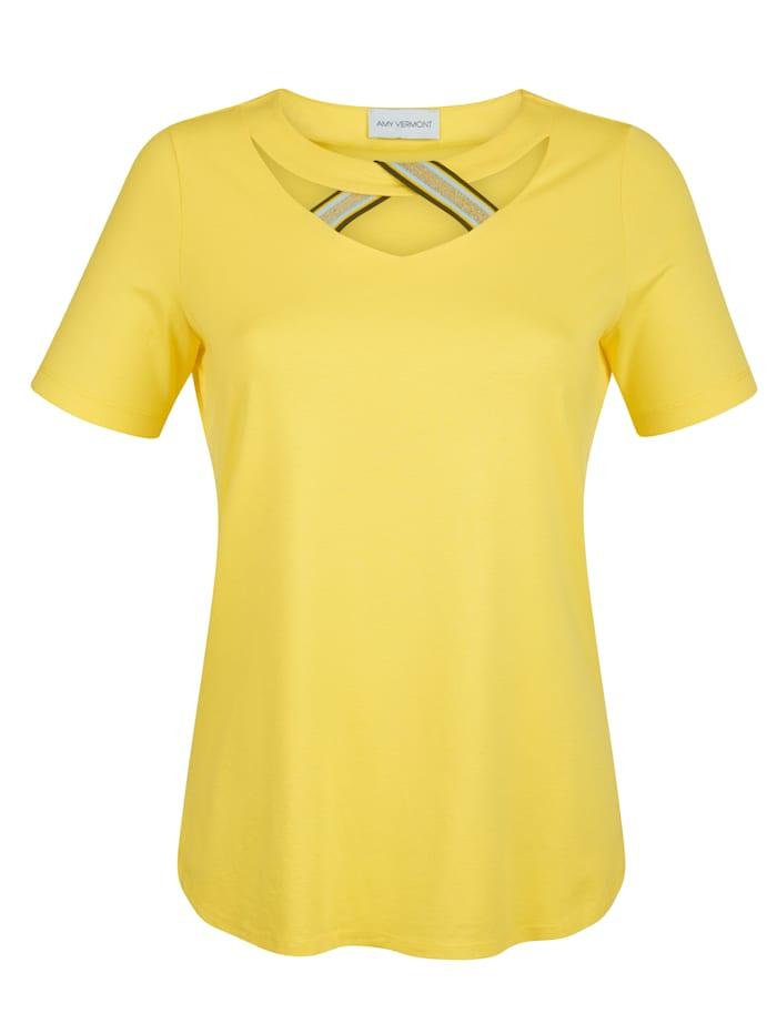 Shirt met sierband