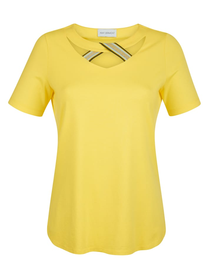 Shirt mit Zierband