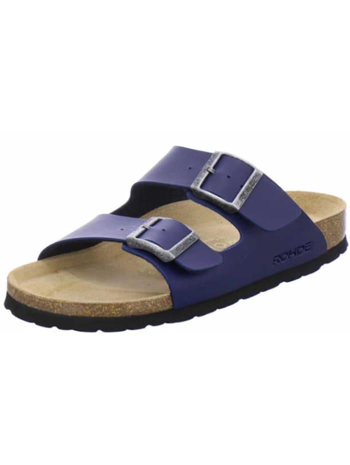 Rohde Pantoletten, blau