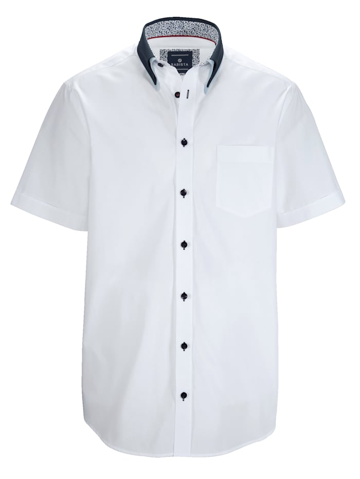Chemise Avec un double col