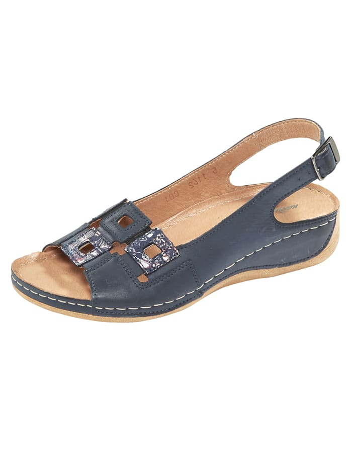 Naturläufer Sandals, Dark Blue