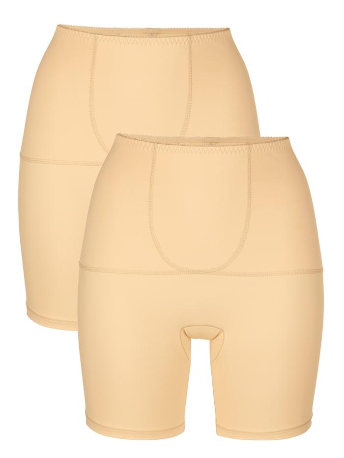 Harmony Panties gainants par lot de 2 à effet ventre plat, Nude