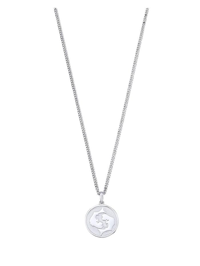 Halsband med stjärntecken Fiskarna, Vit