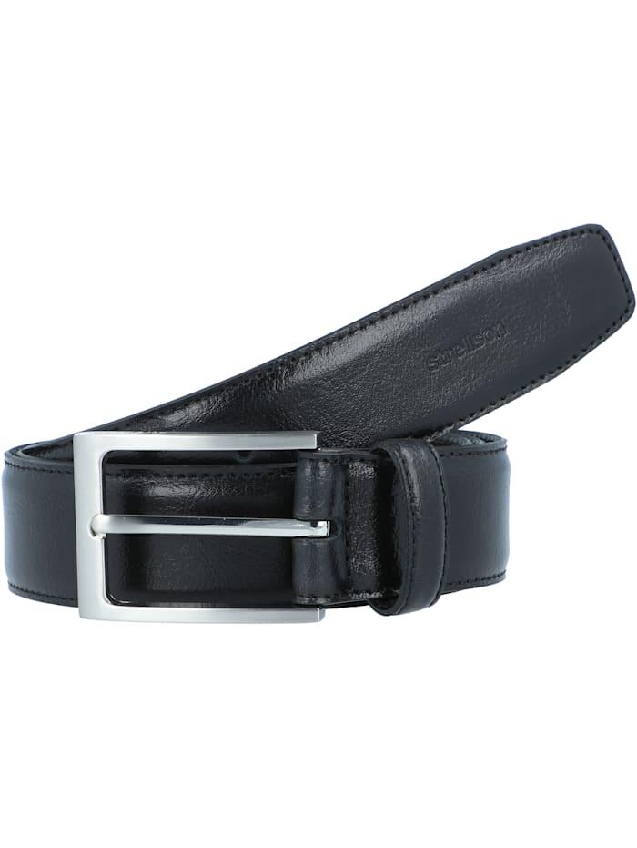 Strellson Premium Gürtel Leder, black