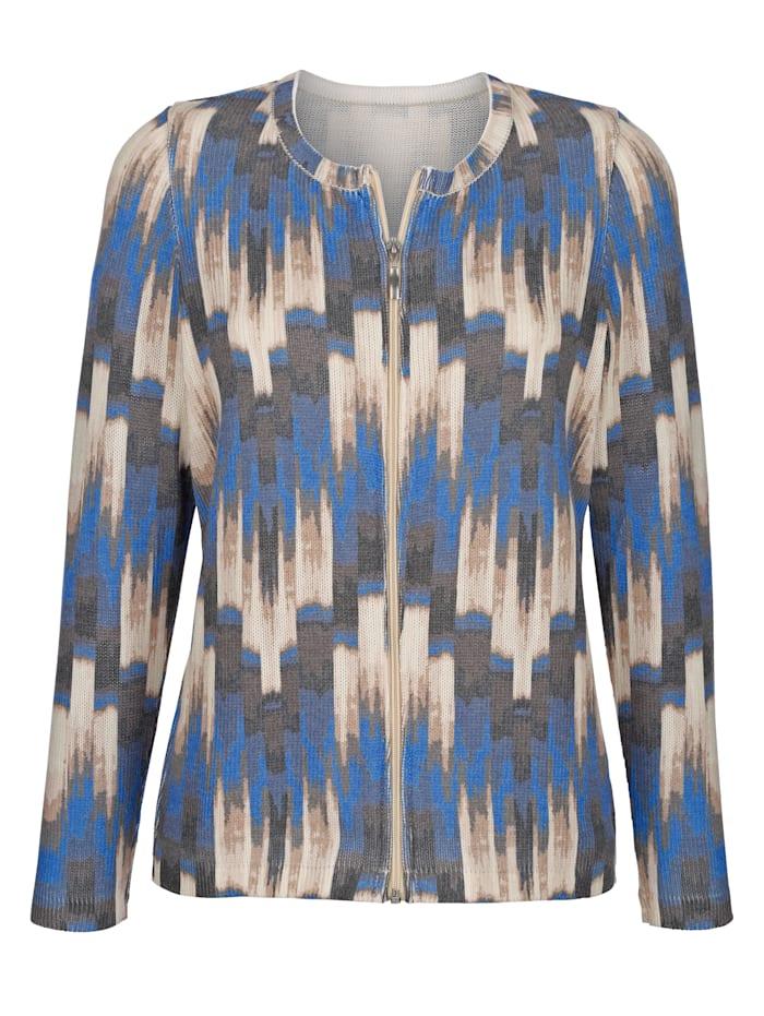 Vest met grafische print