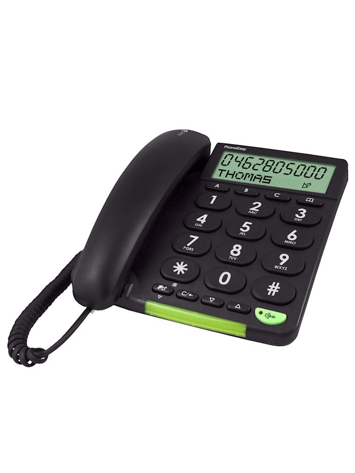Schnurgebundenes Seniorentelefon PhoneEasy 312cs mit übersichtlichem Display