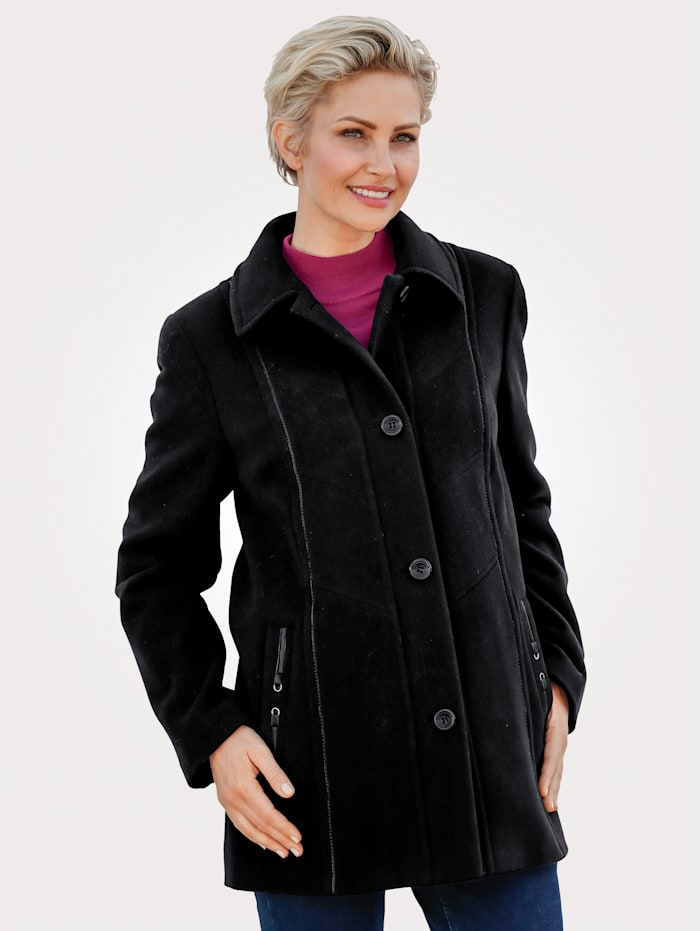 Wool Jacket with clever detailing