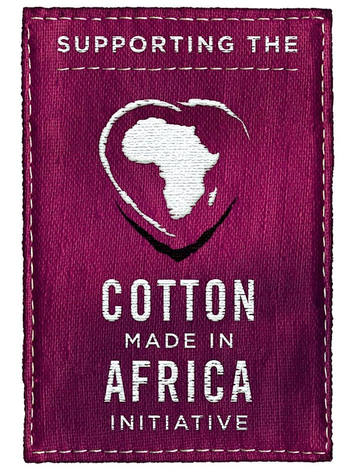 Bustiers uit de 'Cotton made in Africa'-collectie