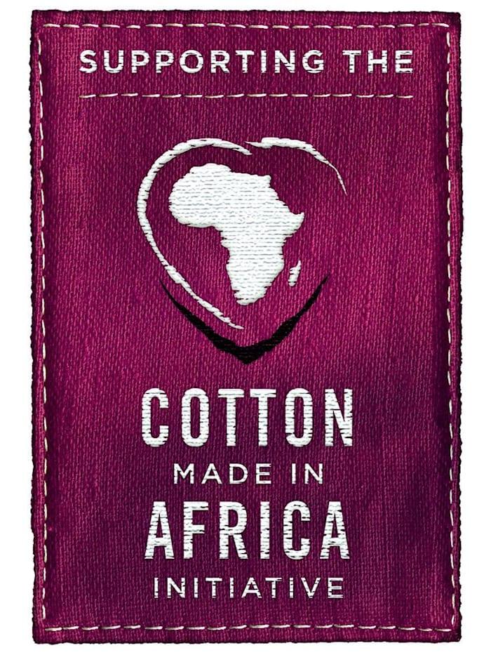 Bustiers uit de 'Cotton made in Africa'-collectie