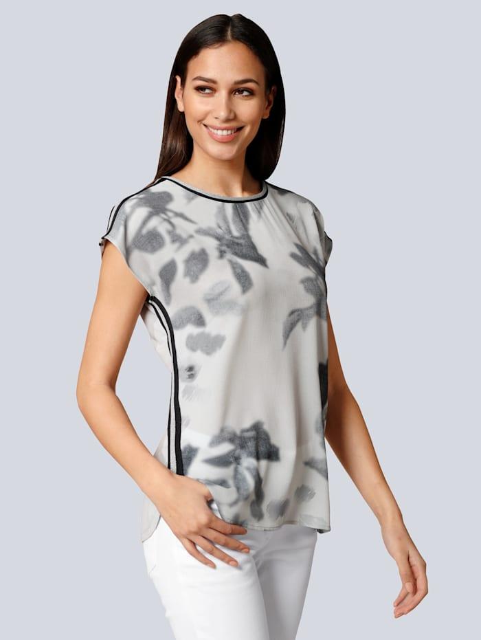 Shirt mit Streifenband