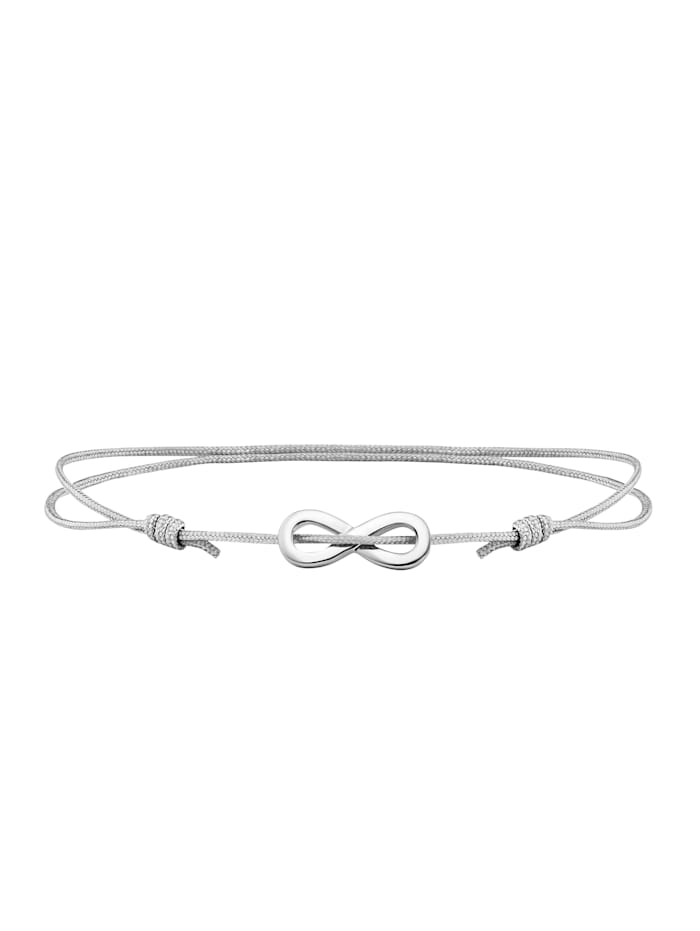 CAI Armband 925/- Sterling Silber 16+4cm rhodiniert, weiß