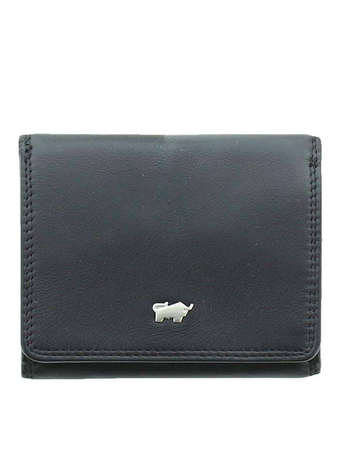 Braun Büffel Geldbörse GOLF 2.0 im eleganten Look 2CS, schwarz