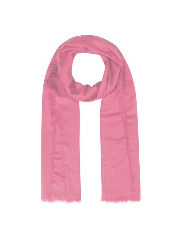 """Codello XL-Schal ,,Basics"""" aus reiner Wolle, light rose"""