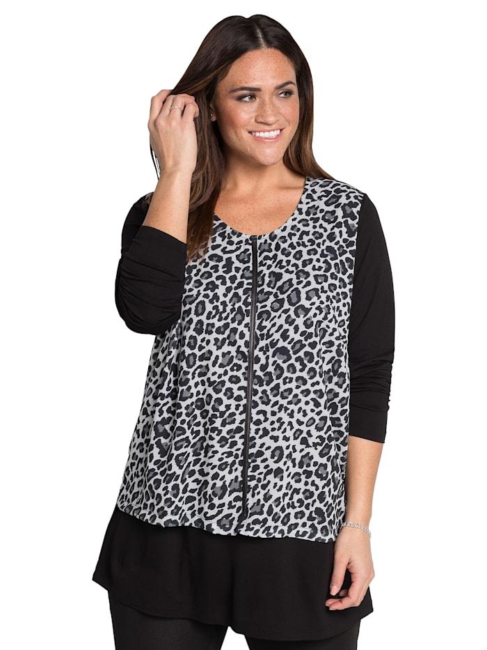Sheego Shirt im Lagen-Look