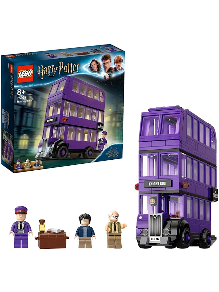 LEGO Konstruktionsspielzeug Harry Potter Der Fahrende Ritter, Bunt