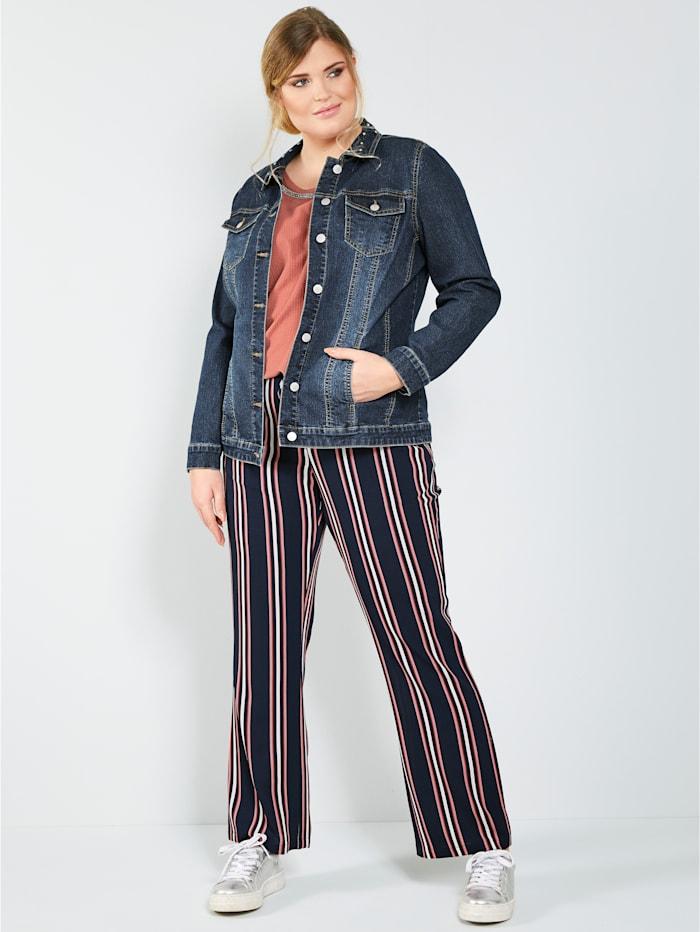 Kalhoty s podélnými proužky