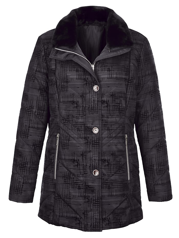 Jacket with a graphic print