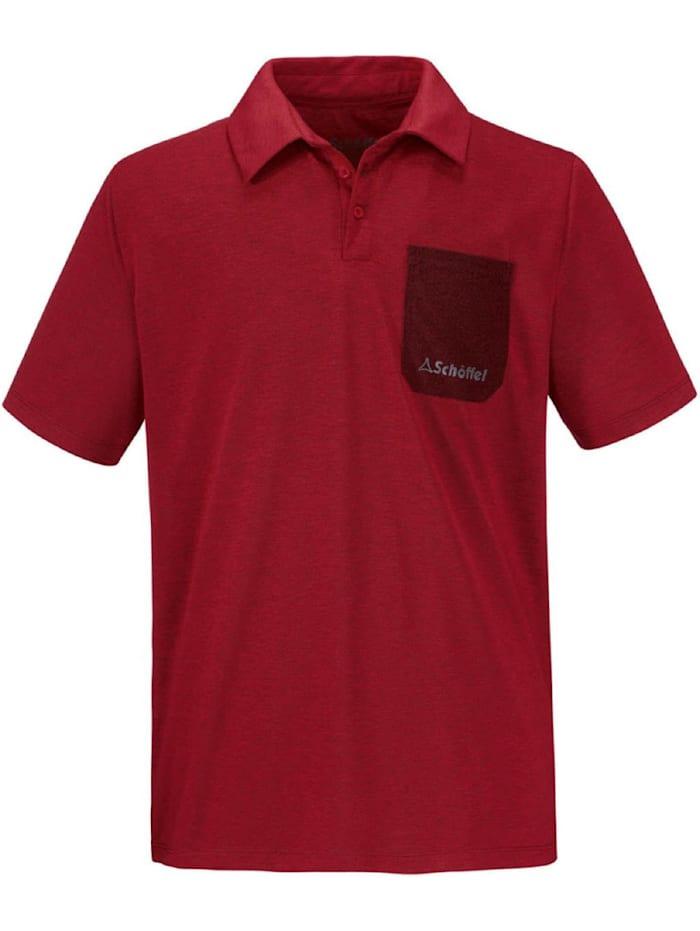 Schöffel Schöffel T-Shirt T Shirt Barcelona, Rot