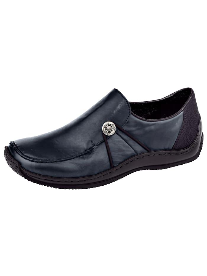 Slipper obuv s módním ozdobným knoflíkem