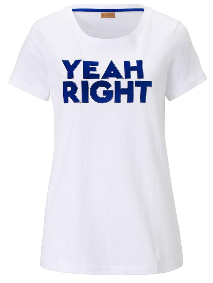 ODEON T-Shirt, Weiß