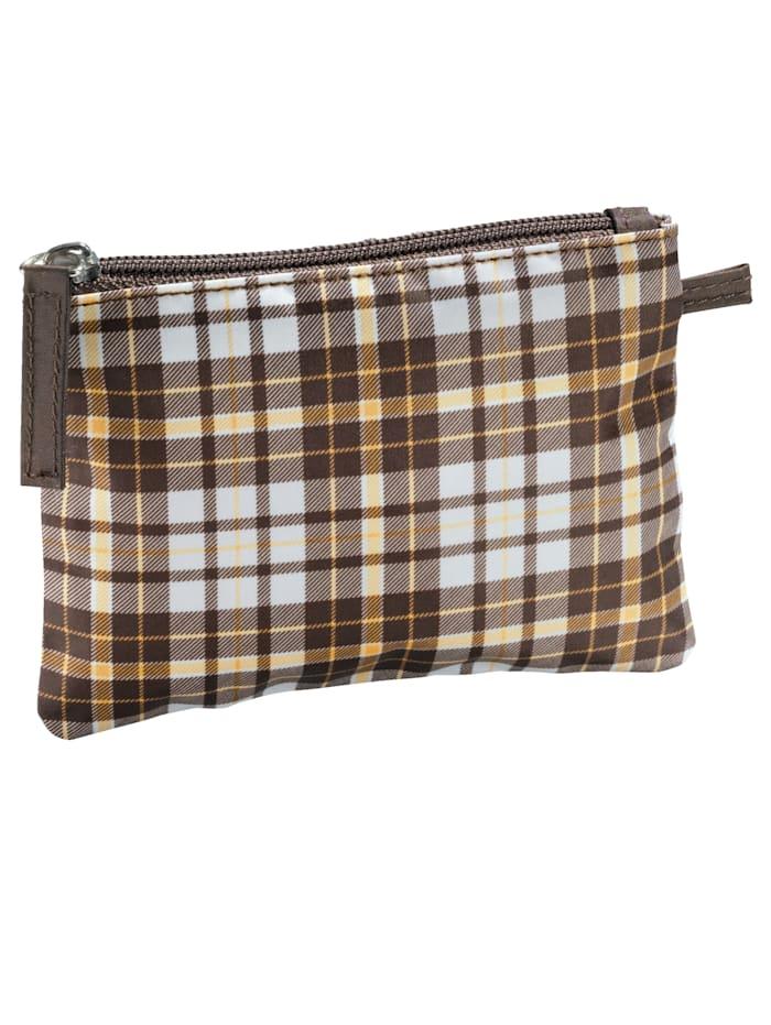 3 tlg. Taschenset In angesagtem Karomuster
