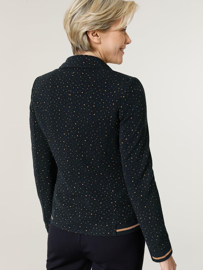 Blazer en jersey à motif minimaliste