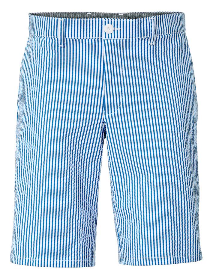 BABISTA Shorts i sommarlätt kvalitet, Blå/Vit