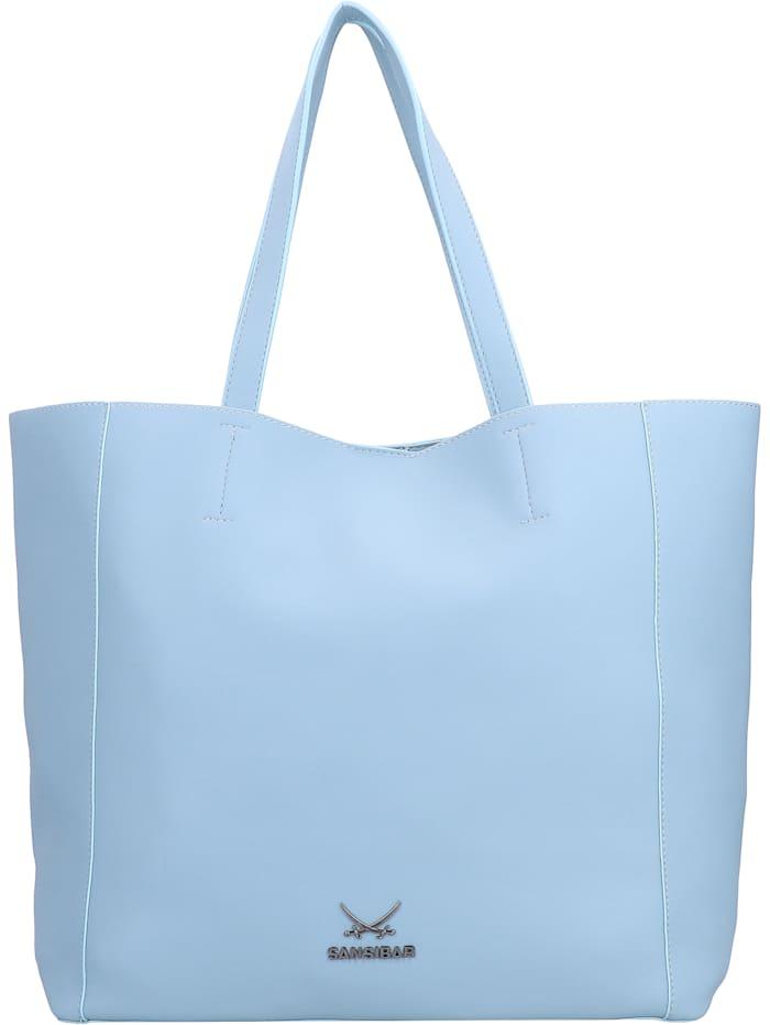 Sansibar Shopper Tasche 34 cm, blue